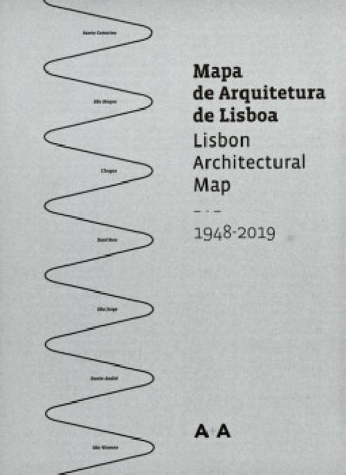Lisbon Architectural Map 1948 - 2019