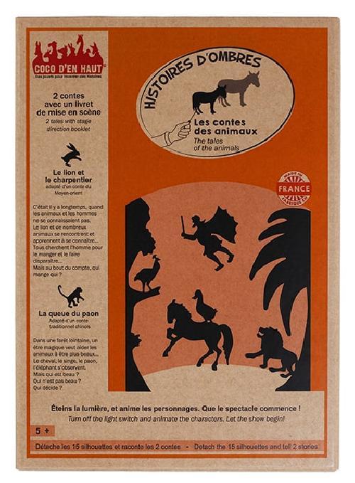 Pochette à histoires - Les contes des animaux