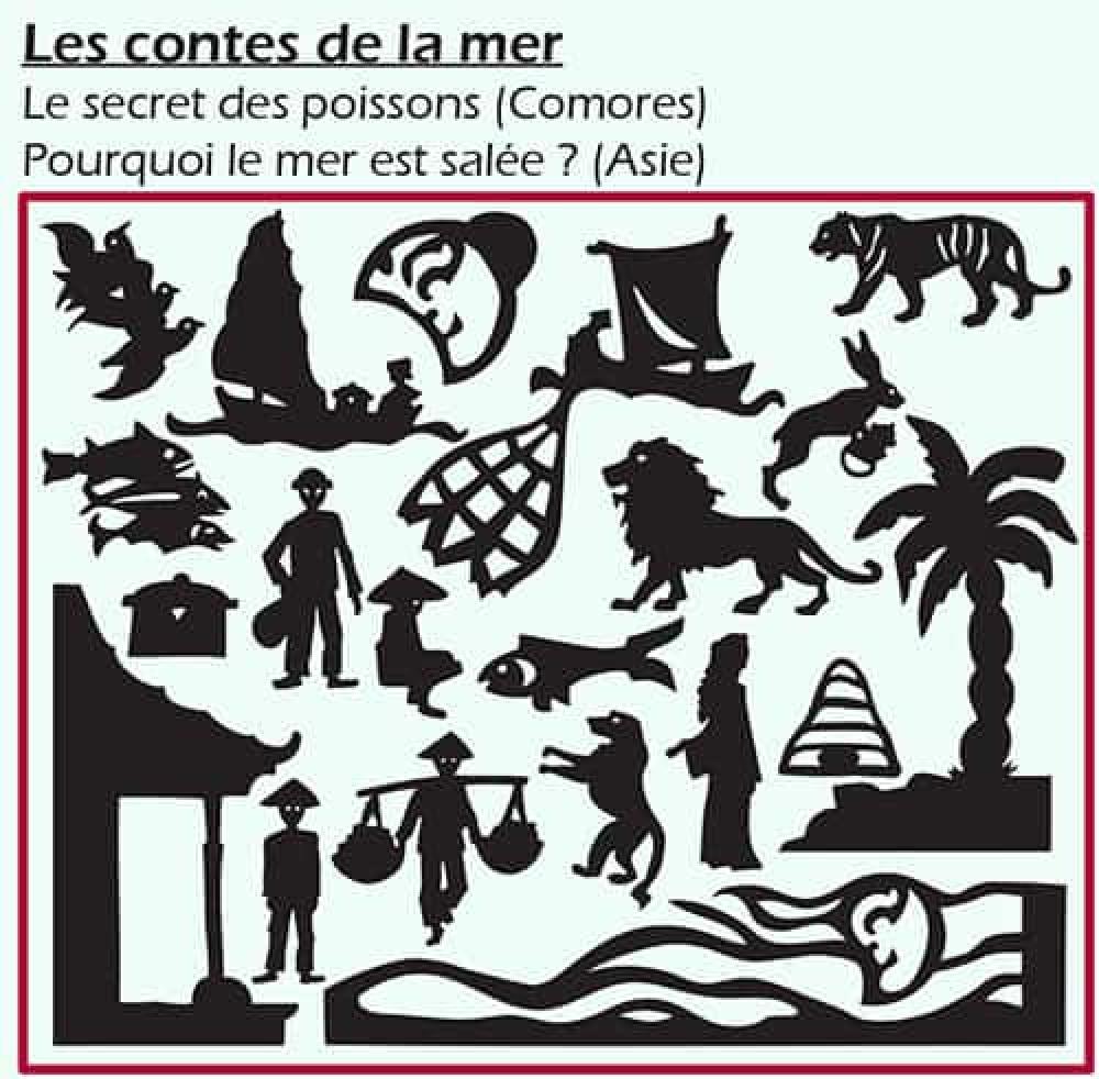 Théâtre d'ombres - Les contes de la mer