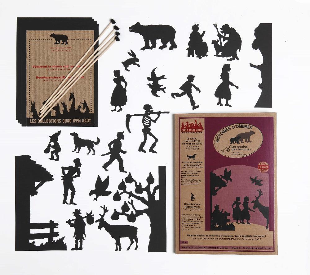 Pochette à histoires - Les contes des hommes