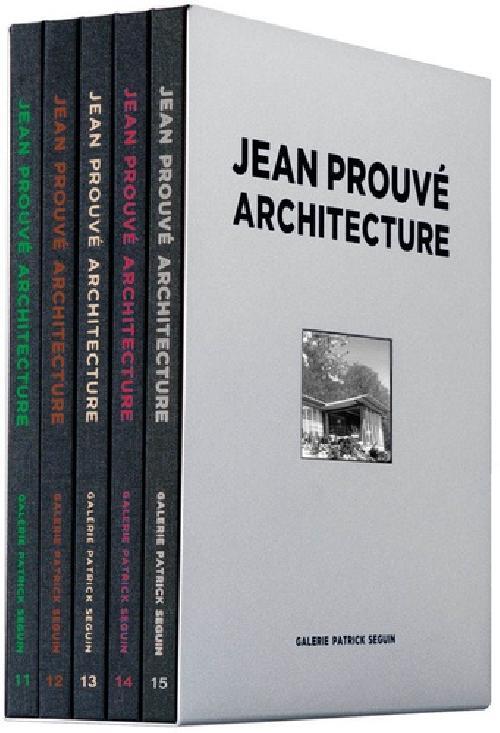 Jean Prouvé architecture - Coffret 3
