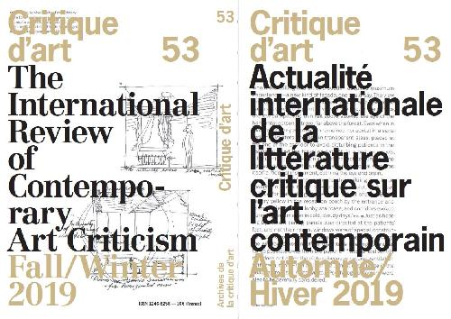 Critique d'art n°53