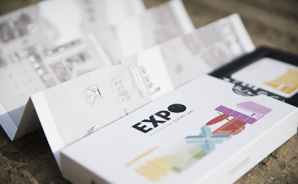 EXPO · Jeu de mémoire de l'architecture