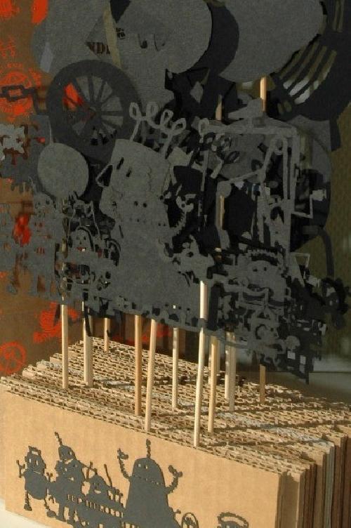 Le p'tit robot - Théâtre d'ombres