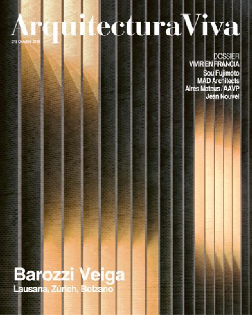 Arquitectura Viva 218: Barozzi Veiga