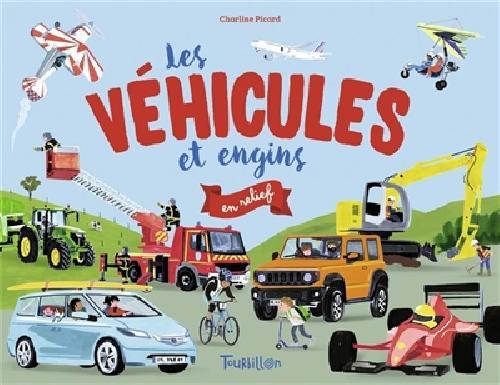 Les véhicules et engines en relief