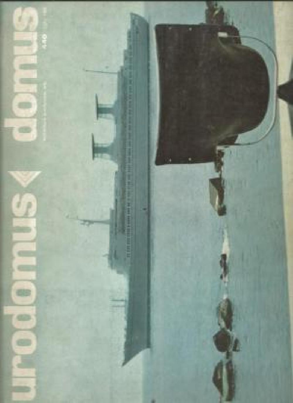 DOMUS EURODOMUS n°440 Juillet 1966