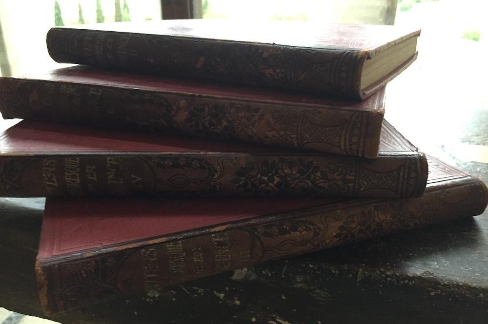 Atlas pittoresque de la France - 4 volumes