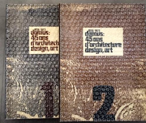 1928/1973 Domus. 45 ans d'architecture, design, art. 2 volumes
