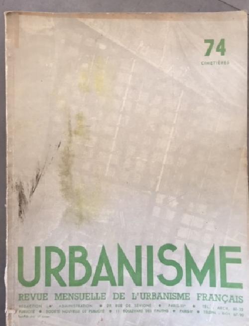 URBANISME n°74 - Cimetières