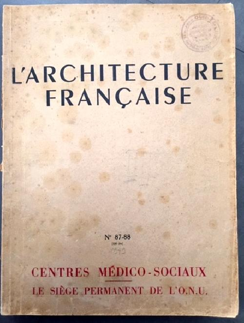 L'Architecture Française n°87-88