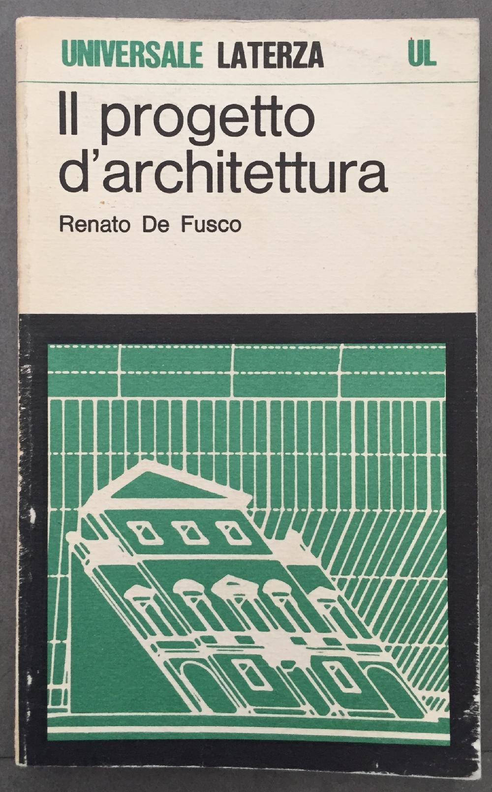 Il progetto d'architettura