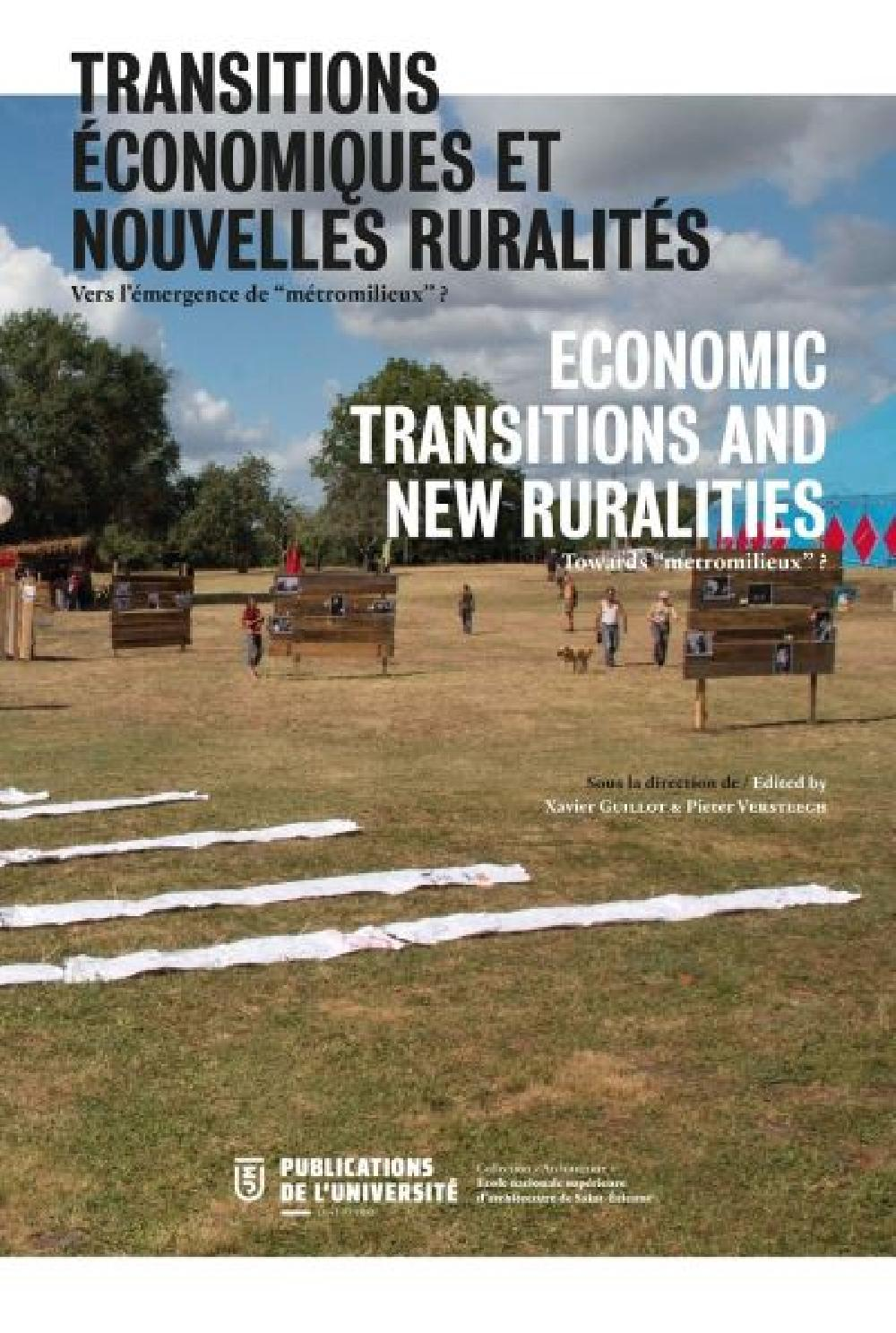 """Economic transitions and new ruralities / Towards """"metromilieux"""""""