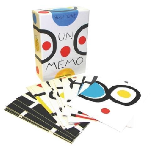 UN MÉMO - Un jeu de mémoire et d'imagination