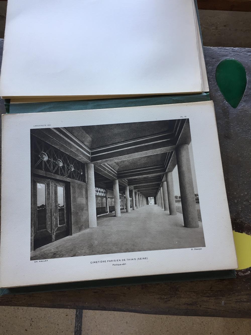 L'architecte - année 1930