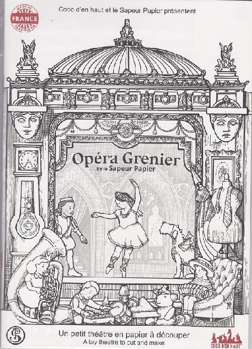 Théâtre papier - Opéra Grenier