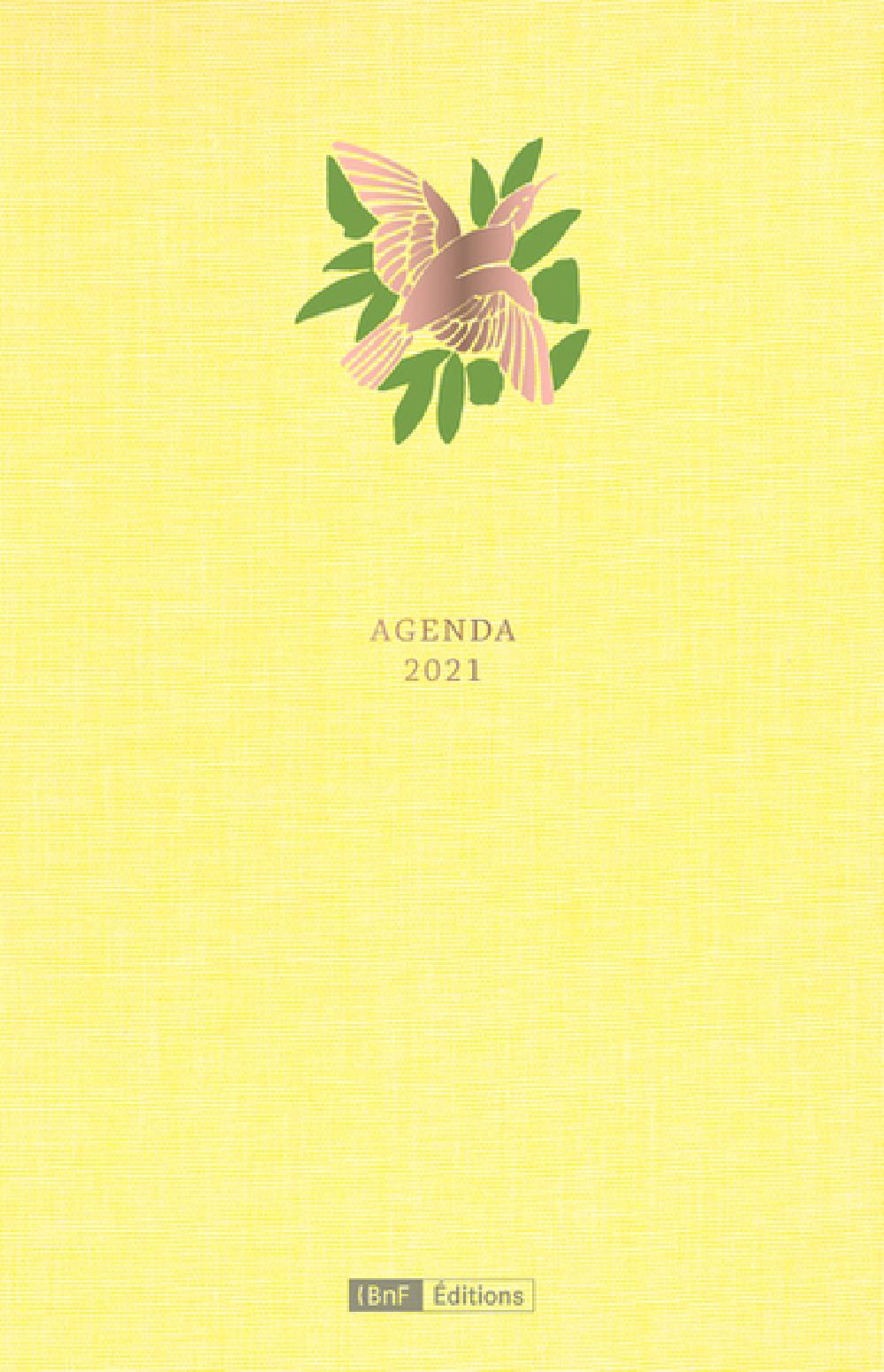 Agenda -  Édition 2021
