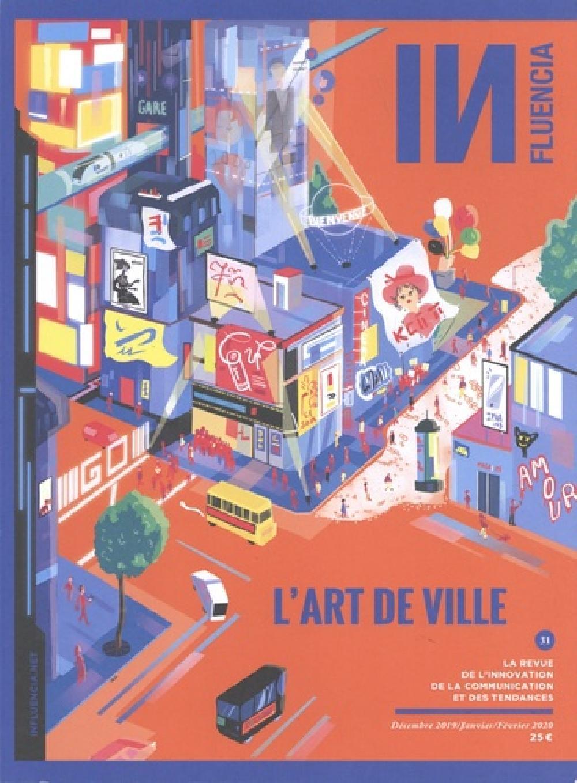 INfluencia N°31 - L'ART EN VILLE - HIVER 2020