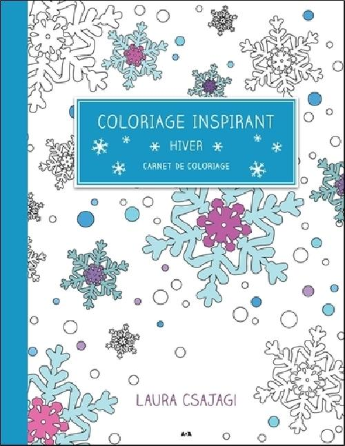 Coloriage inspirant - Hiver