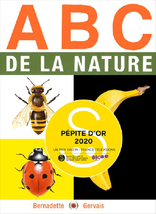 ABC de la nature - PÉPITE D'OR DU SALON JEUNESSE DE MONTREUIL