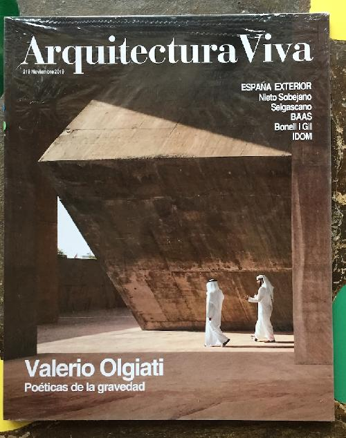 Arquitectura Viva 219 Valerio Olgiati - Poéticas de la gravedad