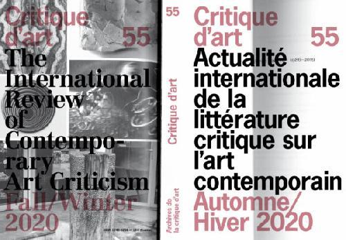 Critique d'art n°55