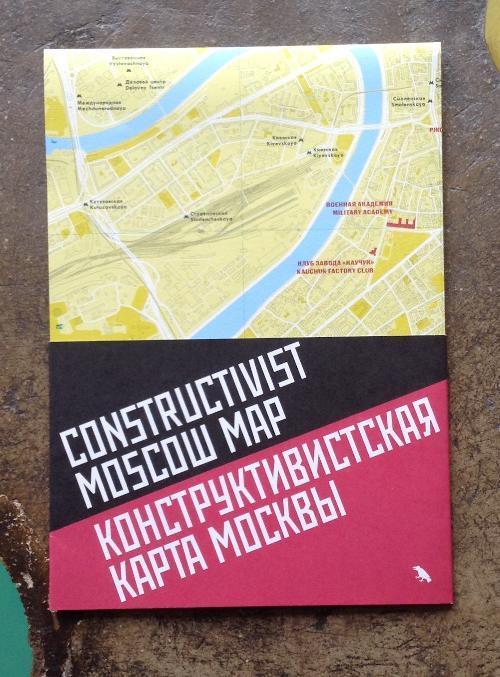 Constructivist Moskow Map