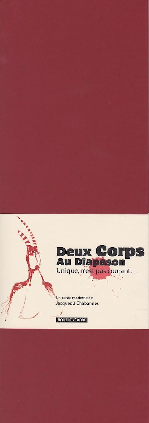Les contes modernes - Deux Corps au diapason - Unique, n'est pas courant...