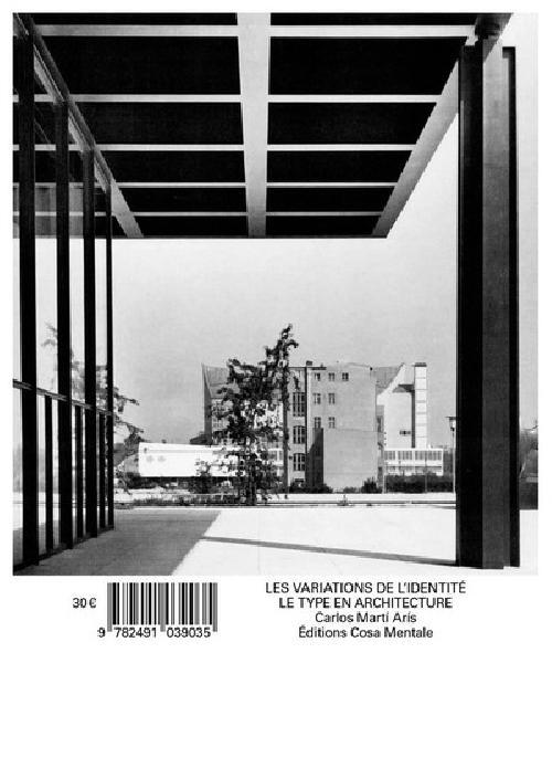 Les Variations de l'identité - Le type en architecture