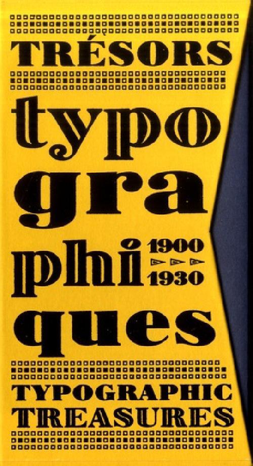 Trésors typographiques 1900-1930