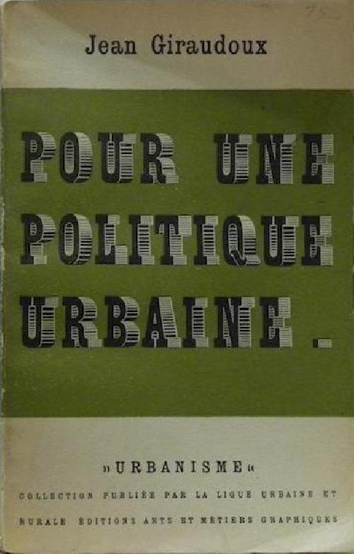 Pour une politique urbaine