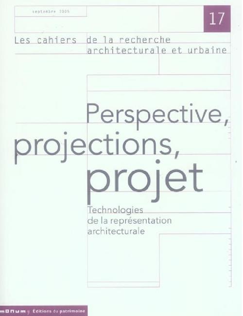 Les Cahiers de la recherche architecturale et urbaine n°17