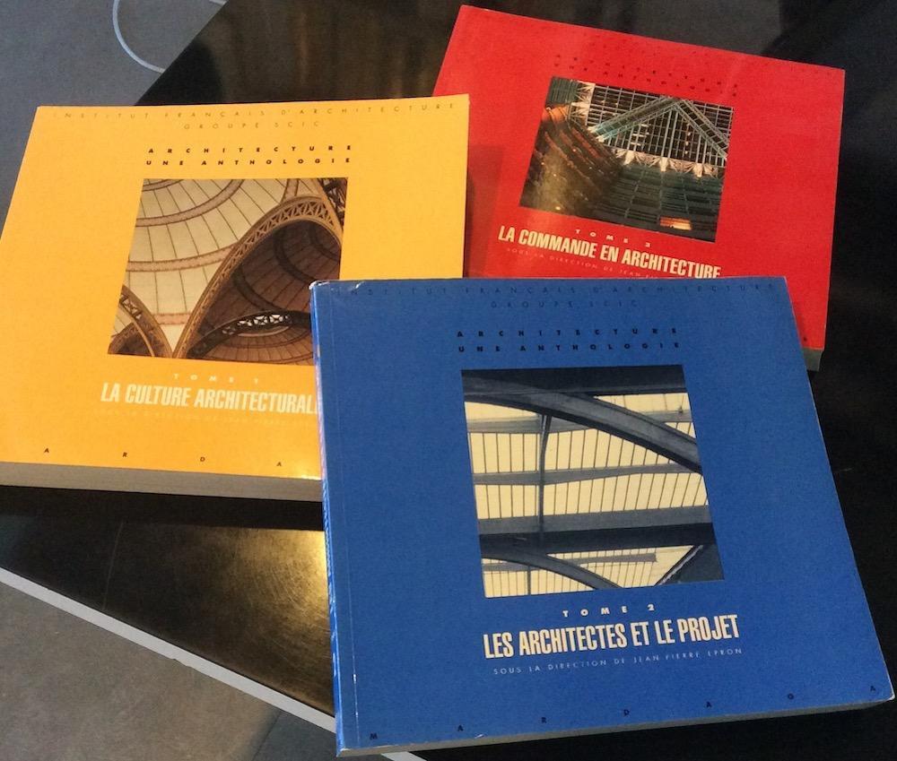 Architecture, une anthologie