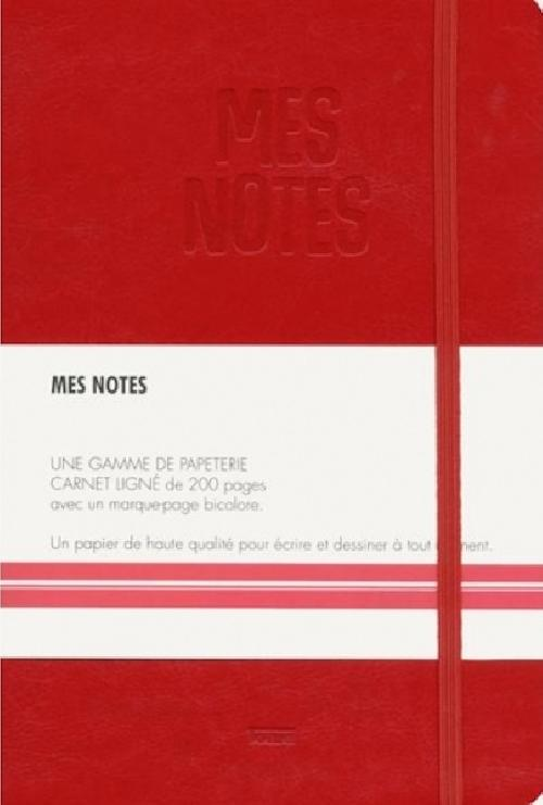 Notes cuir garance - Mes notes
