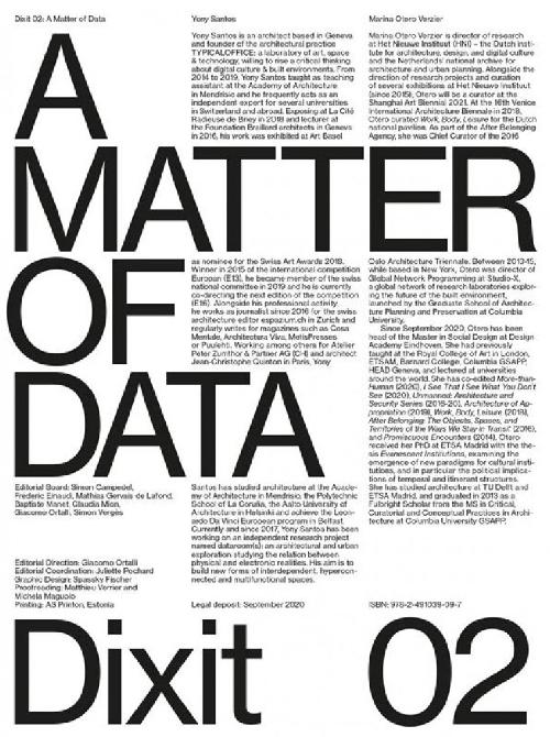 Dixit n.2 - a matter of data