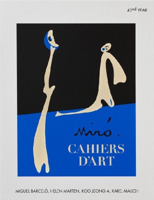Revue Cahiers d'Art - Joan Miró