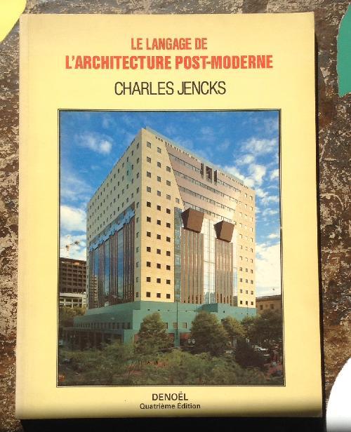 Le langage de l'architecture post-moderne