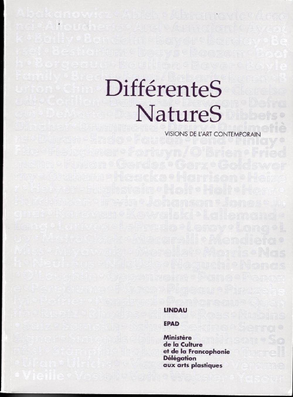 DifférenteS natureS