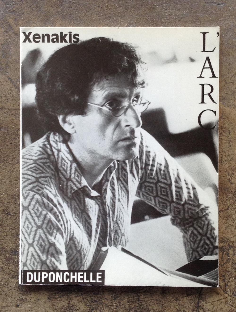 XENAKIS / Revue L'Arc