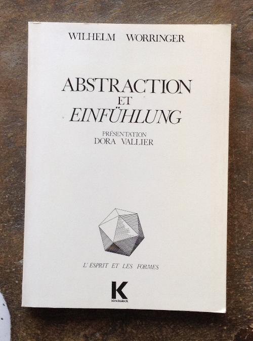 Abstraction et Einfühlung