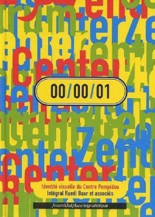 00/00/01 Identité visuelle du centre Pompidou