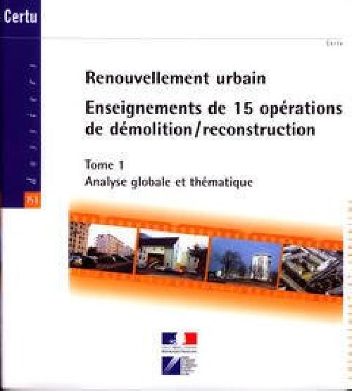 Renouvellement urbain T1/T2