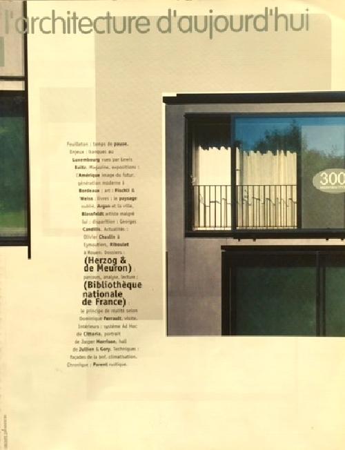 N°300 - Herzog & de Meuron / BnF
