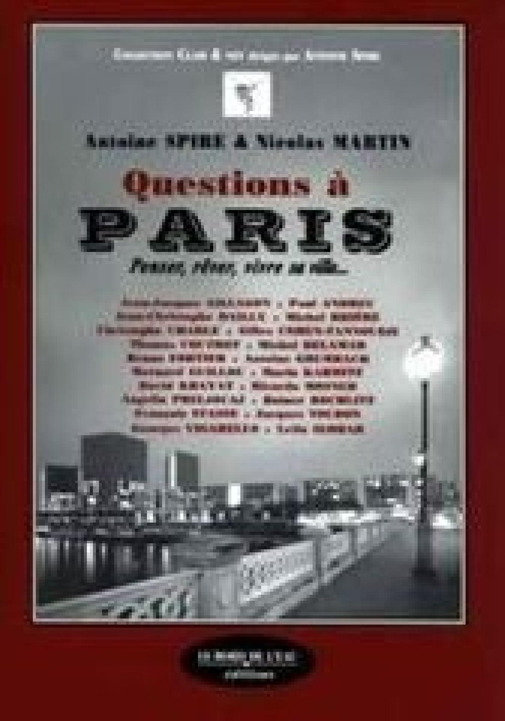 Questions à Paris