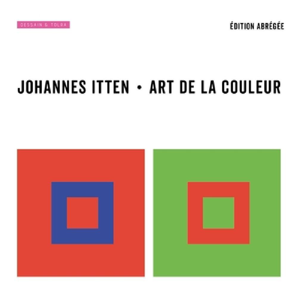 Art de la couleur éd.abrégée  Johannes ITTEN