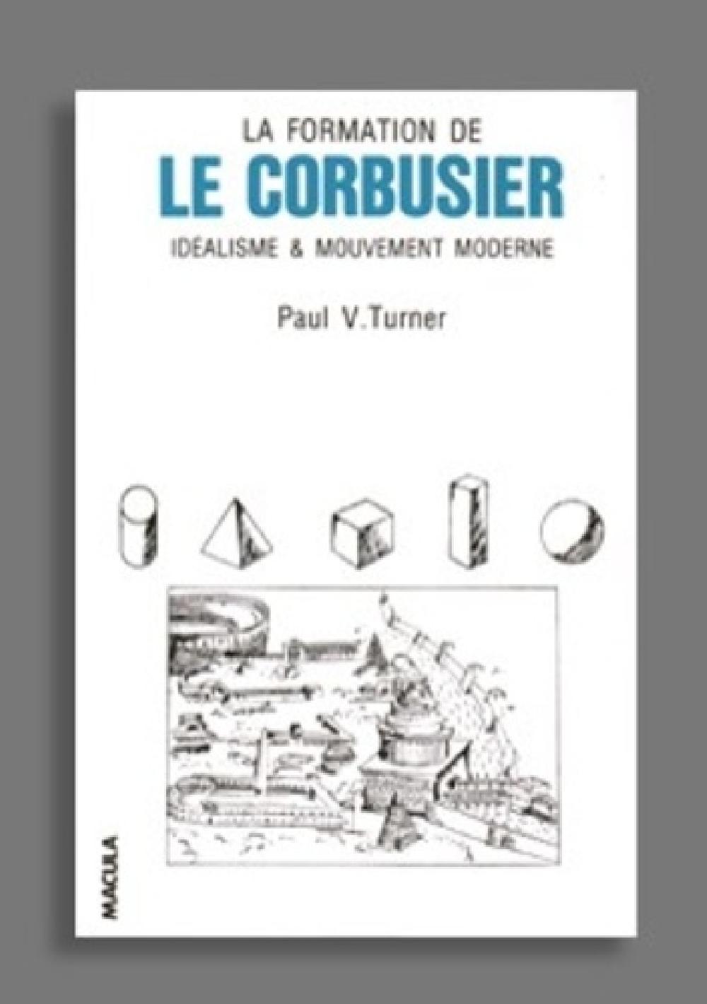 La formation de Le Corbusier