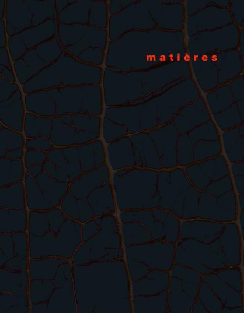 Matières n°9 - L'espace architectural