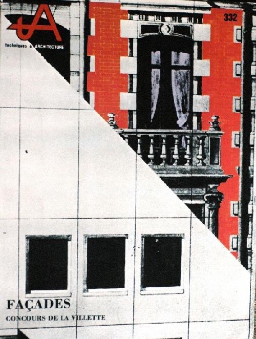 Techniques & architecture n°332 - Façades