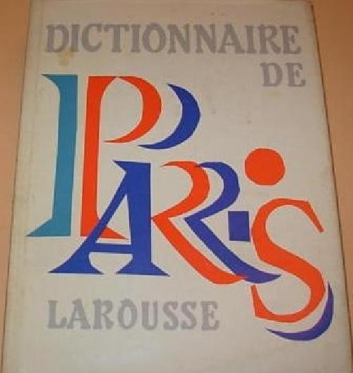 Dictionnaire de Paris
