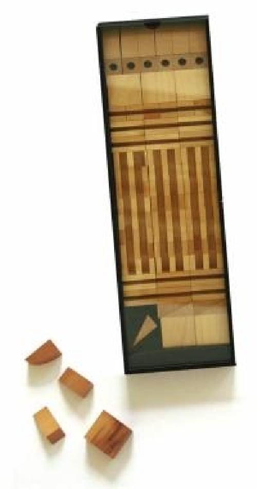 Scatola di architettura MC N°1 + scatola in legno